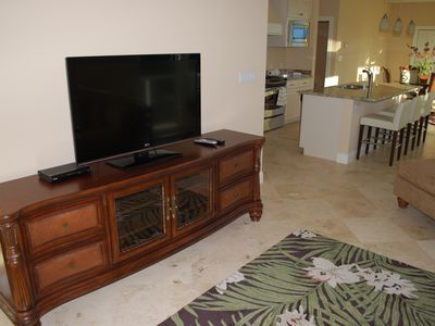 Living Area Plasma TV