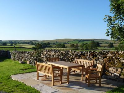Ravenstonedale barn rental - Stunning views from the patio