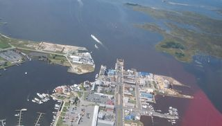 Crisfield condo photo - DOWNTOWN CRISFIELD AERIAL VIEW
