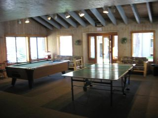 Mammoth Lakes condo photo - Fun in the club house.