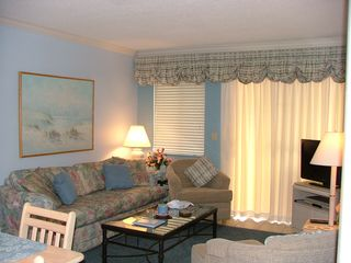 Fort Morgan condo photo - The Living Room!