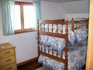 Plum Island house photo - Bedroom w/ bunk beds
