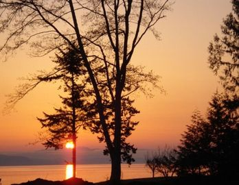 Qualicum Beach house rental - How would you like to wake up to this!
