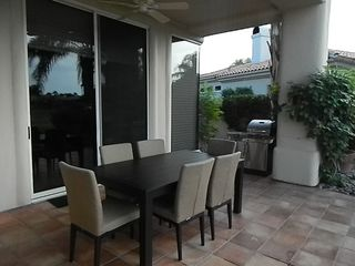 La Quinta house photo - New outdoor dining table/6 chairs
