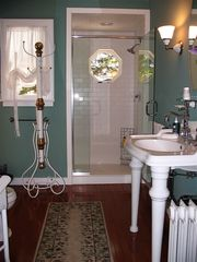 Lenox estate photo - Tiled Bath
