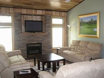"Living room at ""Eagle 8"""