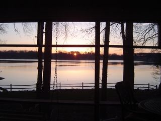 Lake Norman cottage photo - Sip coffee from the porch and watch this sunrise