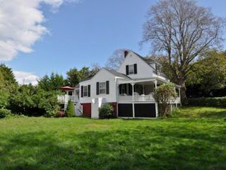 Edgartown house photo - There Is A Large Private Backyard