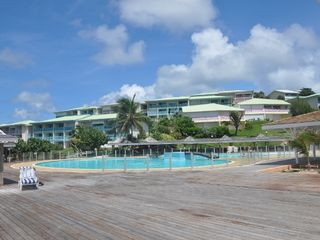 Orient Bay studio photo - View Of The Residence From The Pool.