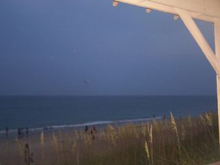 Duck condo photo - Ocean front gazebo in the evening. Beautiful!