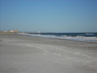 Amelia Island condo photo - Miles of uncrowded beach just steps from the unit.