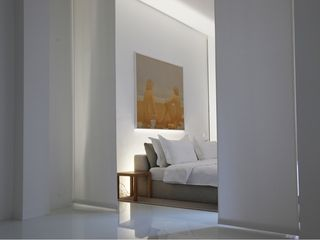 Milan apartment photo - Bedroom at night