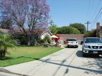 Huge 12 car Driveway - RV Parking and beautiful brick patio