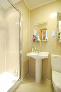 Your well equipped en-suite shower room and toilet.
