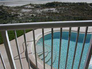 Jacksonville Beach condo photo - The pool is right below.