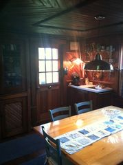 Stephentown cottage photo - Dining area with wet bar