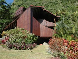 Soufriere house photo - Side view of main villa