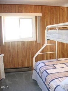 2nd bedroom double bunkbed on the bottom, single on the top