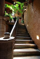 Guanajuato house photo - Stone Staircase to Peristyle, Kitchen, Living Room, and a Bedroom