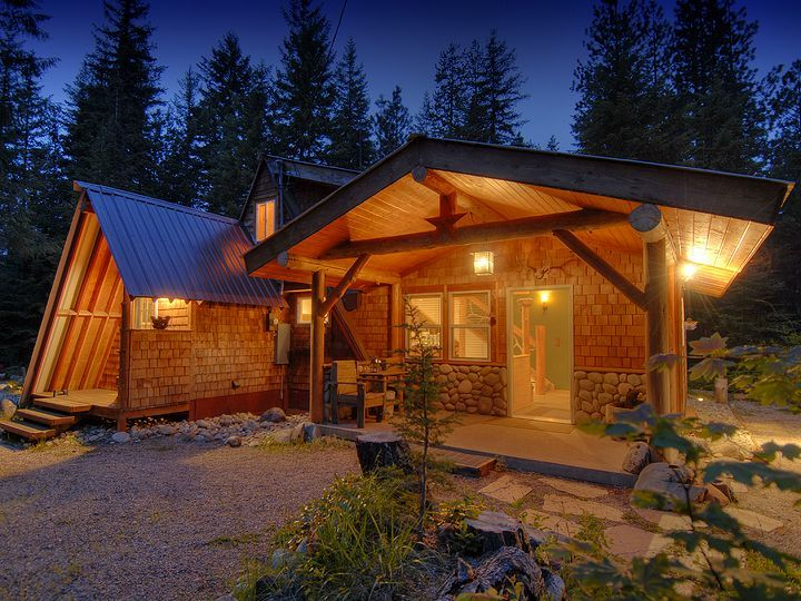 Moonlight cabin bunkhouse leavenworth vrbo for Leavenworth cabin rentals
