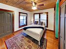 2nd Bedroom - Located on the entry level, the 2nd bedroom holds a queen bed.