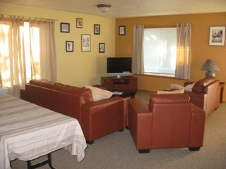 Government Camp lodge photo - Comfortable Appointed Living Room