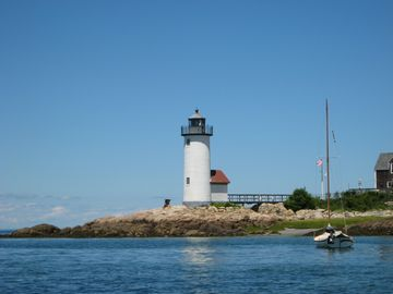 Nearby Annisquam Light house