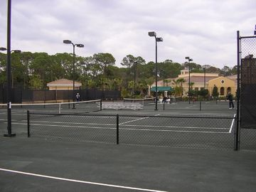 State of the art floodli tennis centre at Venetian