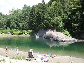 Lareau Farm Swim Hole only 10 minutes Away, Great for Young Children