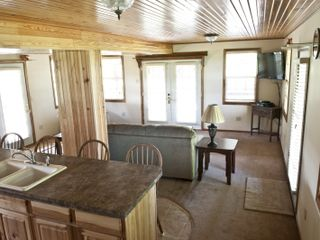 Macks Creek cabin photo - Kitchen/Livingroom