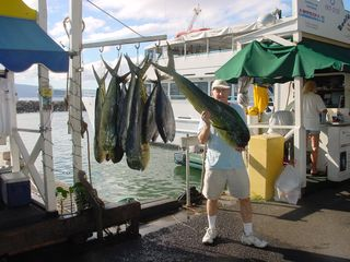 Lahaina condo photo - A successful fishing trip