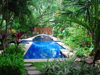 Playa Langosta condo photo - The pool is cool, immaculate, and perfect for either laps or lounging.
