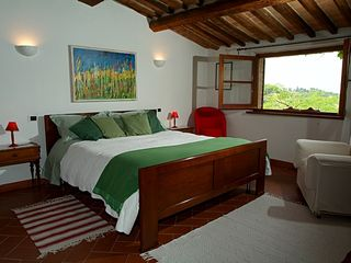 Chiusi villa photo - Villa: modern large room with a nice view
