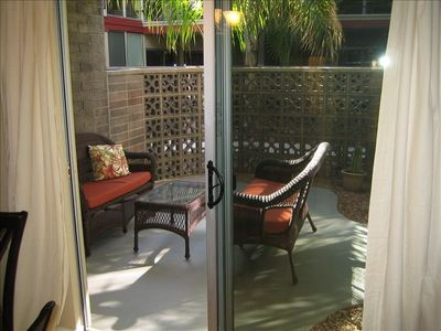Spacious, Private Patio