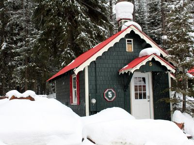 Bungalow #5 - Mountain Moose in Winter
