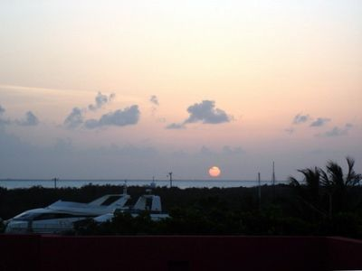 Caribbean Sunset from the Terrace