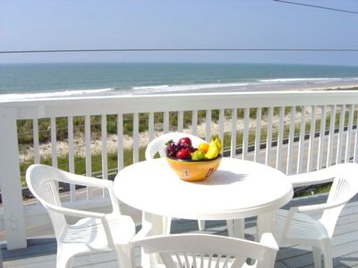 Enjoy the tremendous Oceanfront view from your balcony