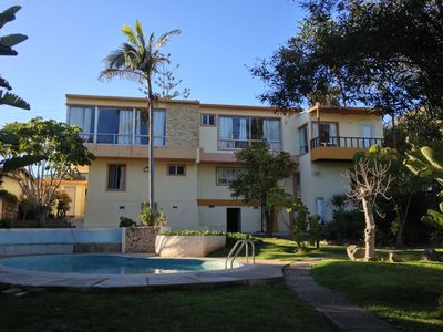 Great Retreat in the middle of Down Town Ensenada. Backyard / Swimming Pool