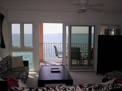 Oceanfront View from the Living Room