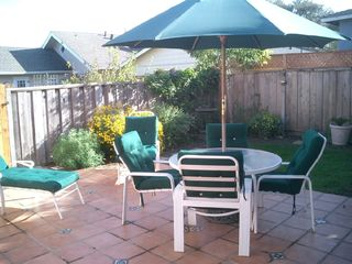 Monterey house photo - Sunny patio