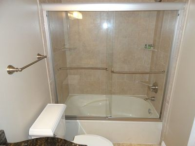 Hall Bath Tub & Shower