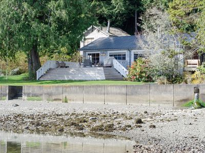Hood Canal, 1930's Beach Cabin. 315' of oyster-rich waterfront