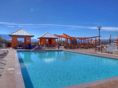 Playa del Sol Resort Pool Deck