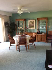 Open Dining Area with 35 Foot Golf Course View of 13th Hole Over Water BEAUTIFUL