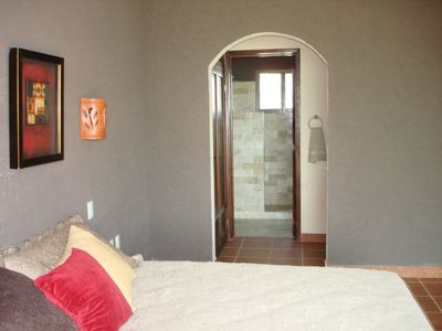 Puerto Morelos house rental - First Floor Bedroom and Bath