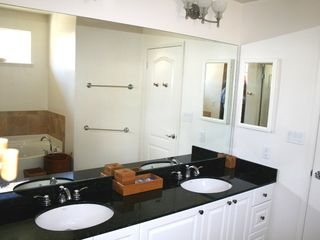 Ko Olina estate photo - Master Bath with His/Her Double Sinks