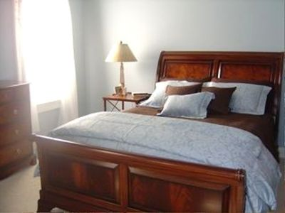 Annapolis house rental - Master bedroom
