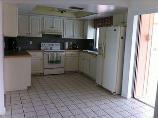 Punta Gorda house photo - kitchen just off the pool and screened in Lanai.
