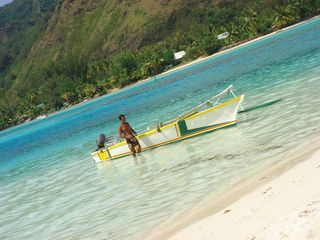 Private lagoon tour - Moorea bungalow vacation rental photo