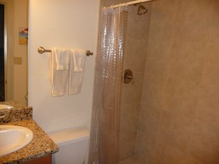 Folly Field villa photo - Granite and Tile with 5' Shower to Enjoy